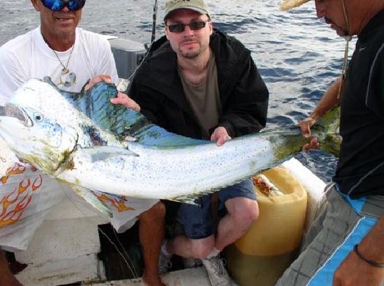 Zihuatanejo, Mexiko: Me and my Dorado fish
