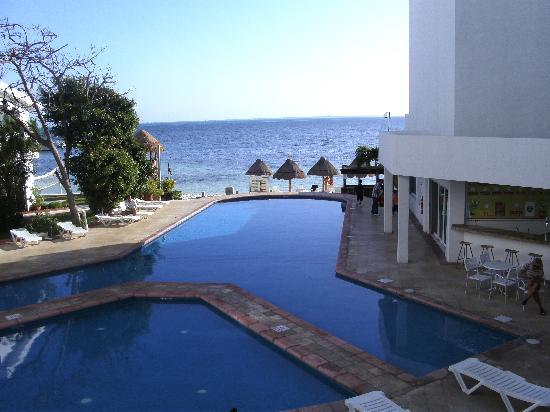 Holiday Inn Cancun Arenas: View from our room