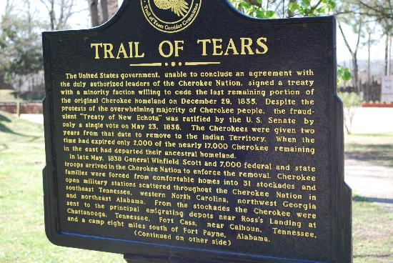 Park Hill, Οκλαχόμα: The trail of tears story