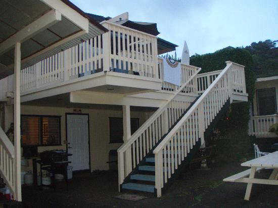 Sharks Cove Rentals: Rear apt