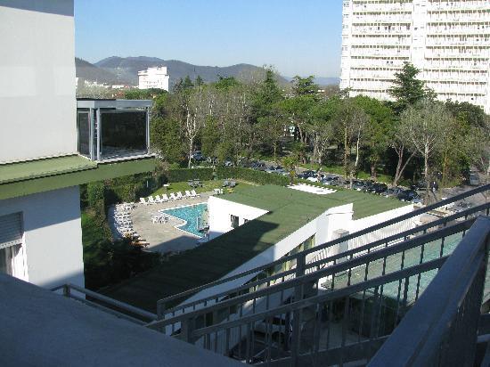Hotel Terme Villa Pace : vista sulla piscina