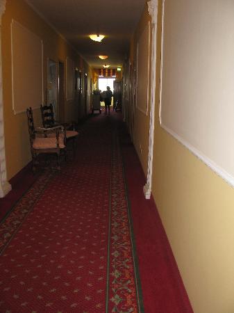 Hotel Terme Villa Pace: corridoio