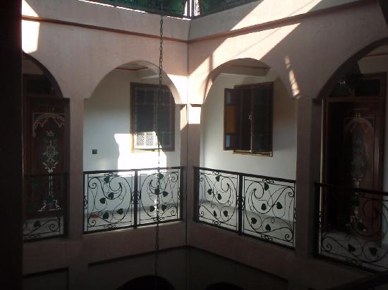 Riad Rahba Marrakech: The floor our room was on