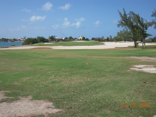 Cancun Golf Club at Pok-Ta-Pok : voir état des fairways .....