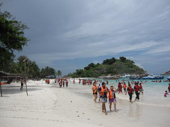 Coral Redang Island Resort: If you hate crowds like this go Coral Redang
