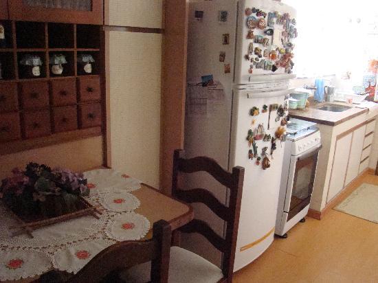 Casa do Alessandra B&B: kitchen