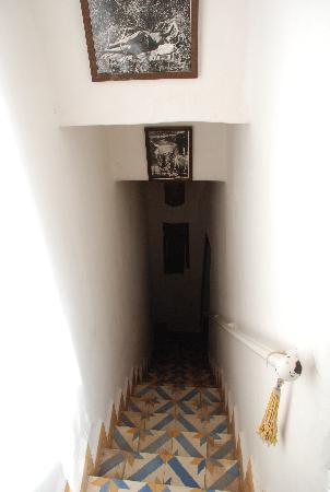 Escalier chambres Riad dar Tayib