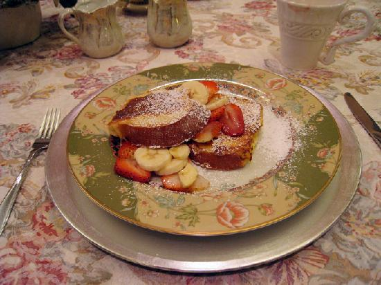 Inn at Horn Point french toast