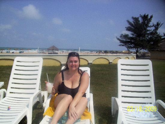 Club Maeva Miramar Tampico: Facing the pool beach behind me
