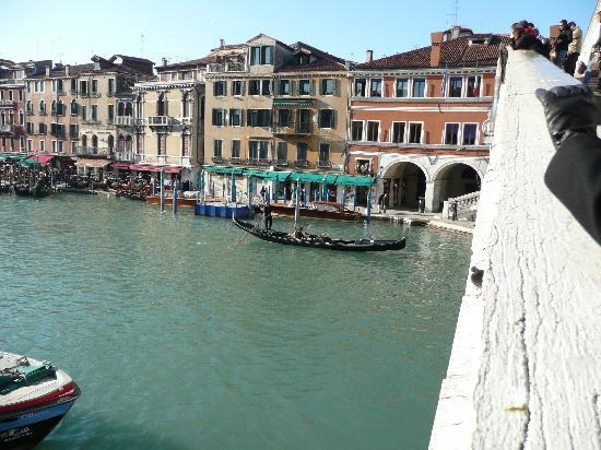 Palace Bonvecchiati: Taken from the Rialto Bridge