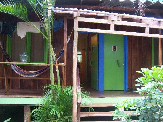 Playa Chiquita Lodge: Our room. Tastefully done and constructed out of exotic hardwood.