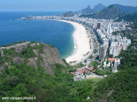 Orla Copacabana Hotel: une vue de la plage de copacabana