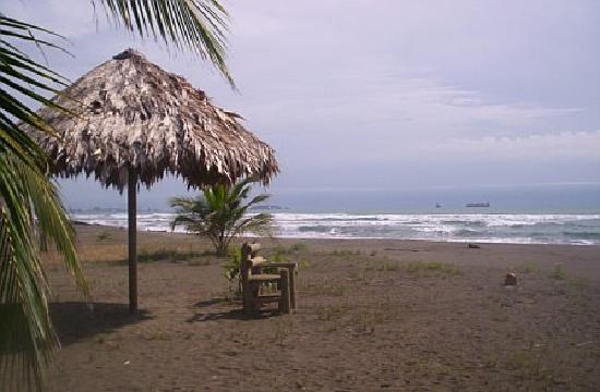 Hotel Playa Westfalia: Beachfront