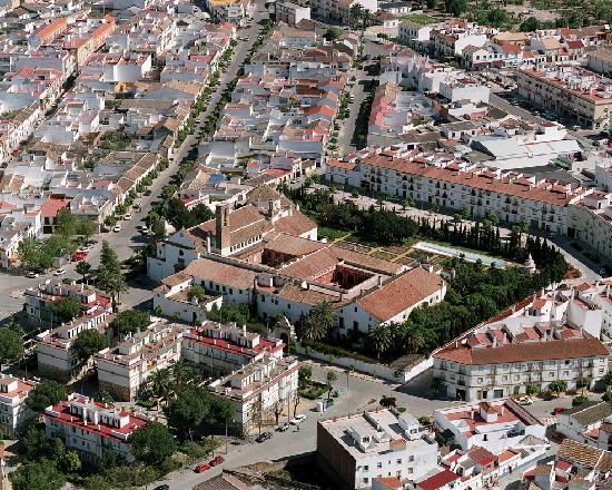 Пальма-дель-Рио, Испания: Vista aérea del Monasterio de San Francisco