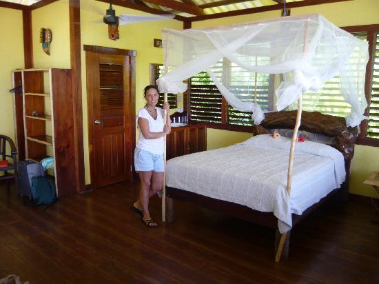 Casa Cayuco: open air cabin