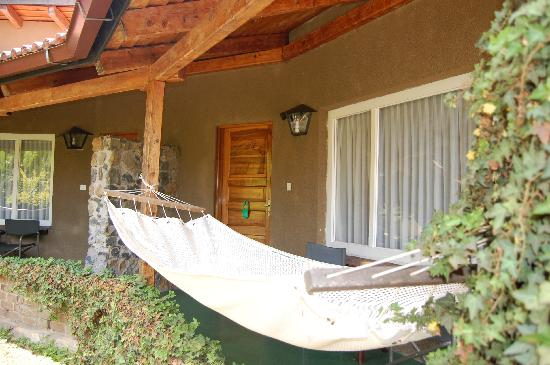 Dik Dik Hotel: Hammock on terrace