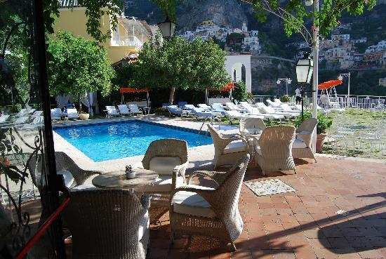 Hotel Poseidon Pool Scene