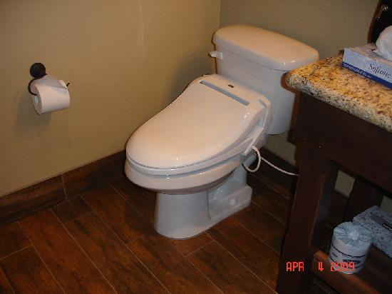 Cable Mountain Lodge : the toilet!