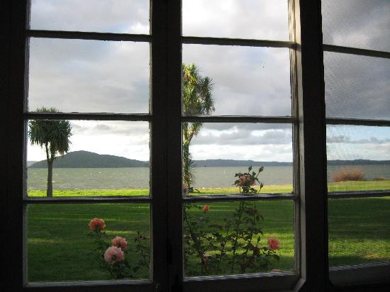 The Lake House Rotorua: View from my room