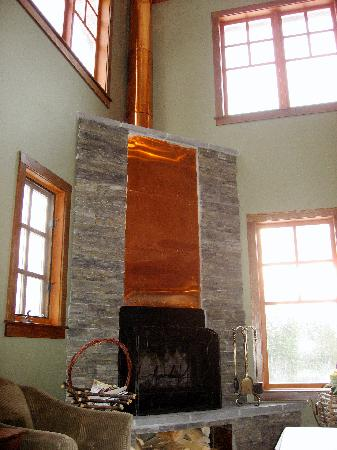 Copper Horse Lodge: Reception / Lobby area