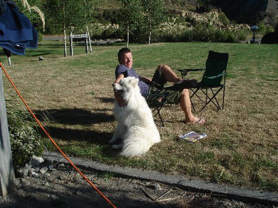 Mt Lyford Lodge: The Lodge's Dog