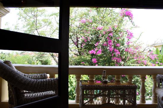 Pavillon d'Orient Boutique-Hotel: The balcony