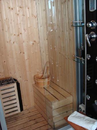 """Nastasi Hotel & Spa: Sauna dentro de la habitación de """"luxe"""""""