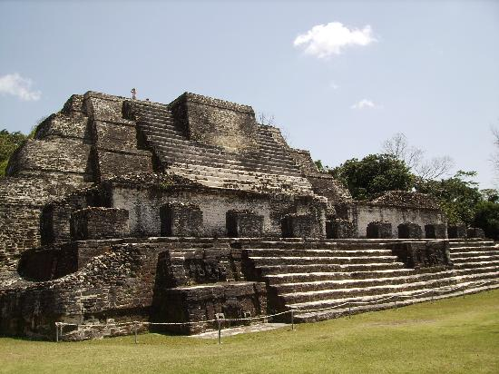 Belize Cruise Excursions: Altun Ha, temple of the sun god