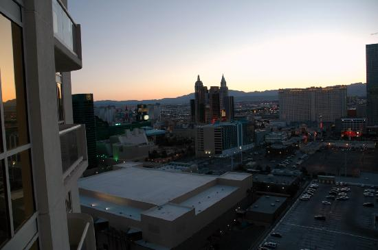 Junior suite 24605 tower 1 - view from the balcony - Picture of ...