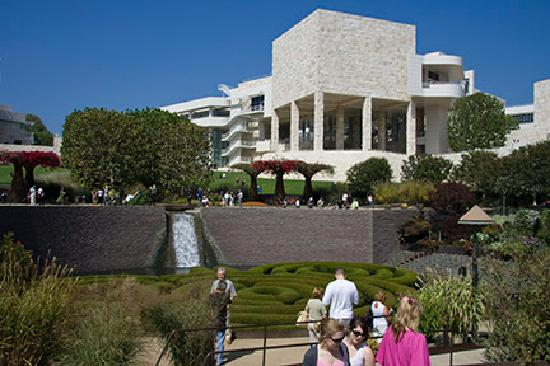 Getty Center: main bulding from different view