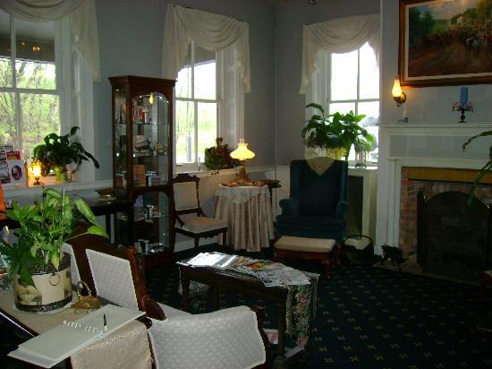 Lobby/Waiting room Cashtown Inn by the inside stairs