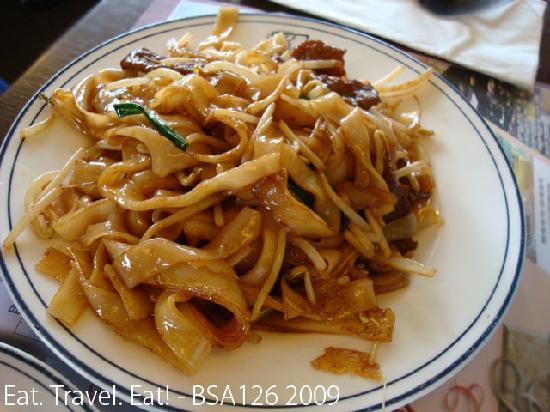 Arcadia Garden Cafe: Beef Chow Fun