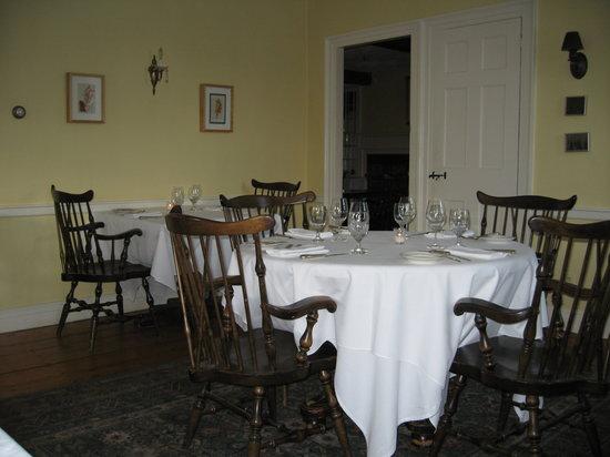 Barnard Inn Restaurant: A view from my seat