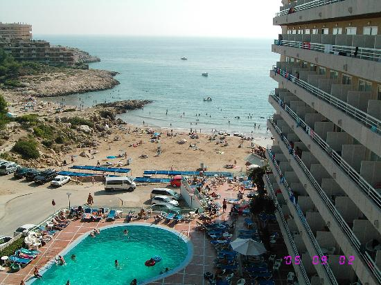 Cala Font Hotel: vistas de relax