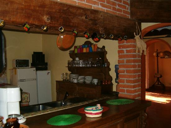 Casa Werma: A fully equipped kitchen