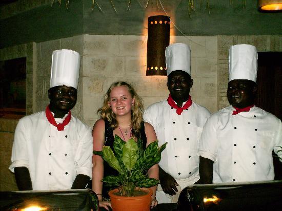 Baobab Beach Resort & Spa: The Chefs and I.