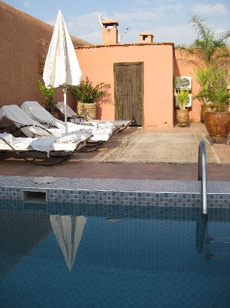 Riad le Clos des Arts: The roof terrace