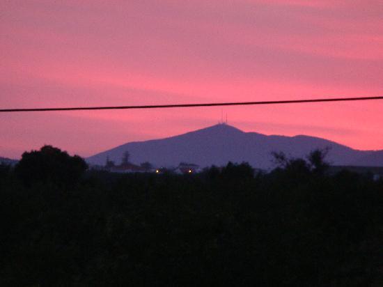 Santa Luzia, البرتغال: Atardecer