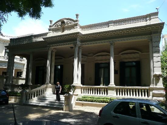 Hotel del Casco: façade