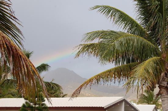 Club Orient Resort : Rainbow after a morning rainshower