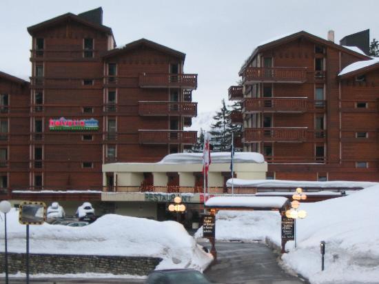 Crans-Montana, Suisse : hotel Helvetia,Crans Montana
