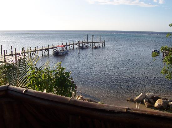"""Tranquilseas Eco Lodge and Dive Center: Your front yard """"La Belle Mer"""""""