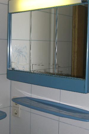 Chalet Mounty : bathroom cabinet