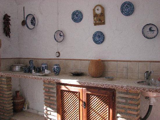 """Guadix, Spanien: """"Höhlenküche"""""""