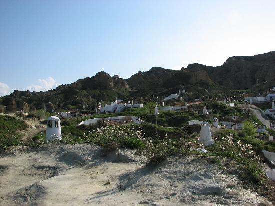 Guadix, Espanha: Schornsteine, so weit man sieht