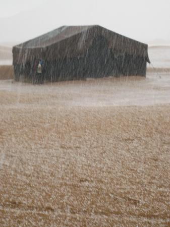 Zagora Markets: Hail storm in Zagora