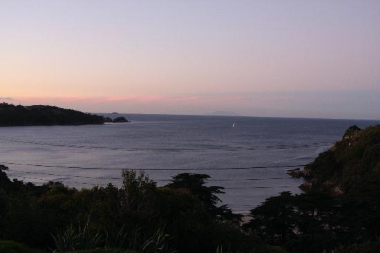 The Boatshed: View from hotel