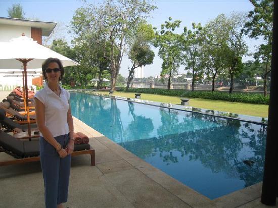 อนันตรา เชียงใหม่ รีสอร์ท แอนด์ สปา: Pool during the day