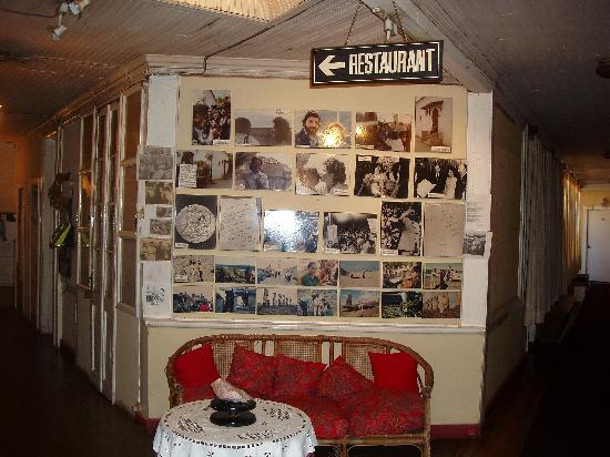 Hosteria La Candela: Wall of Memories