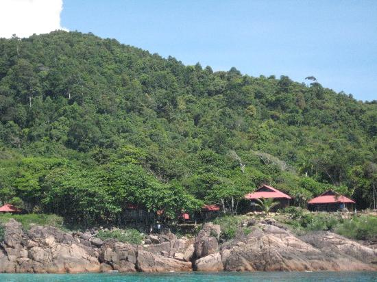 Redang Holiday Beach Villa: The Seaview Semi-D Chalet's